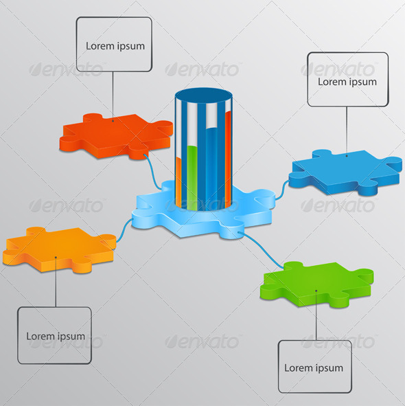 Part of the Puzzle with the Scale Load - Concepts Business