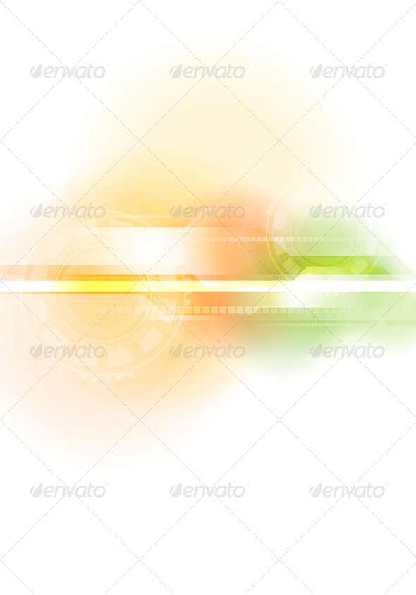 Abstract Technology Bright Background - Backgrounds Decorative