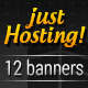Hosting Promo Banners - GraphicRiver Item for Sale