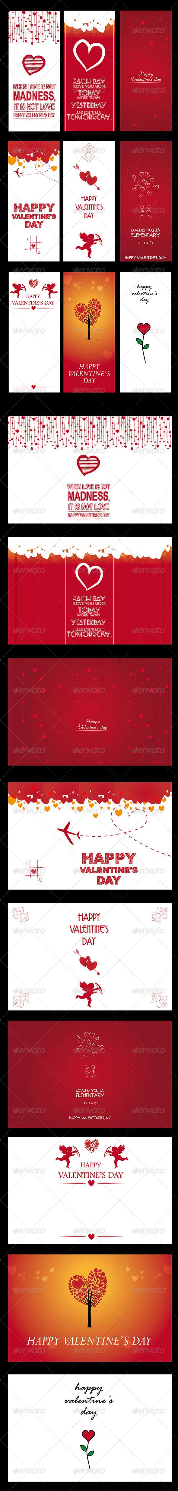 Valentine's Background and Banner - Valentines Seasons/Holidays