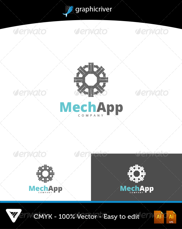 MechApp Logo - Logo Templates