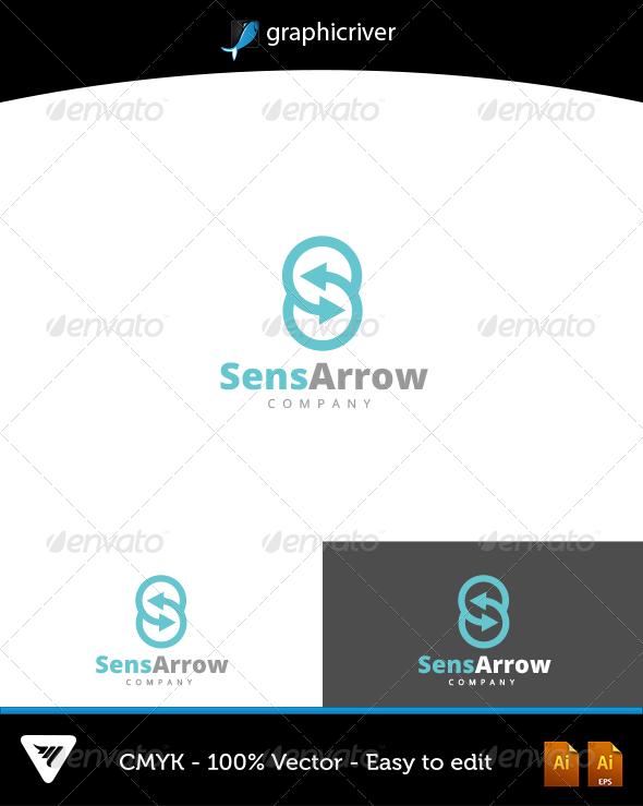 SensArrow Logo - Logo Templates
