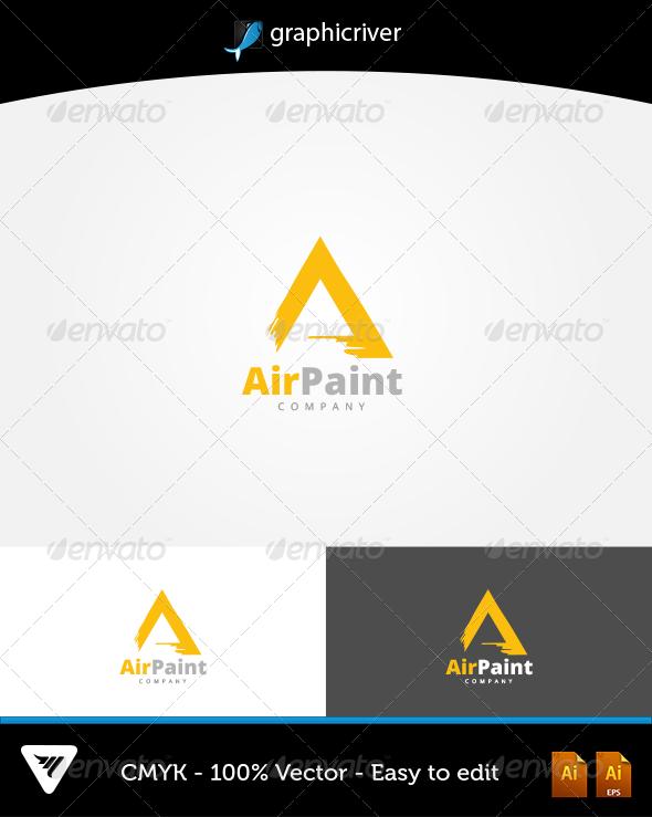 AirPaint Logo - Logo Templates