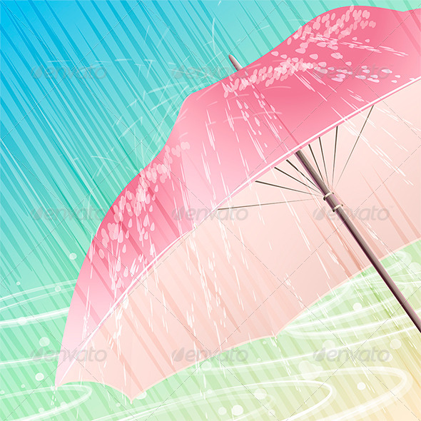 The Spring Rain - Seasons Nature