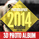 3D - Photo Album - GraphicRiver Item for Sale