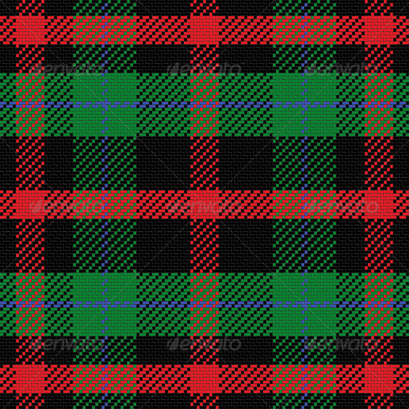 Vector Seamless Pattern Scottish Tartan  - Patterns Decorative