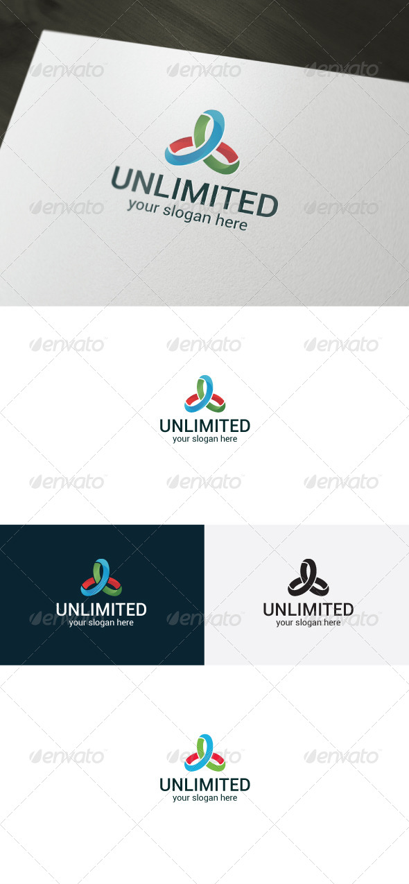 Unlimited Logo - Vector Abstract