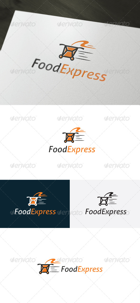Food Express Logo - Food Logo Templates