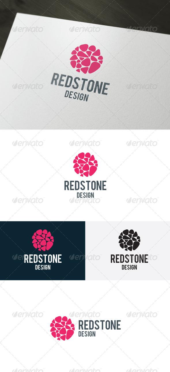 Red Stone Logo - Symbols Logo Templates