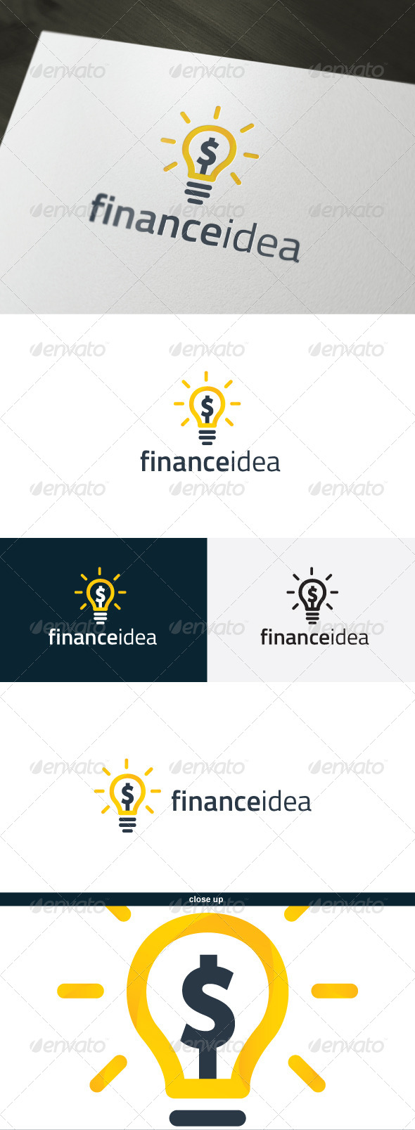Finance Idea Logo - Objects Logo Templates