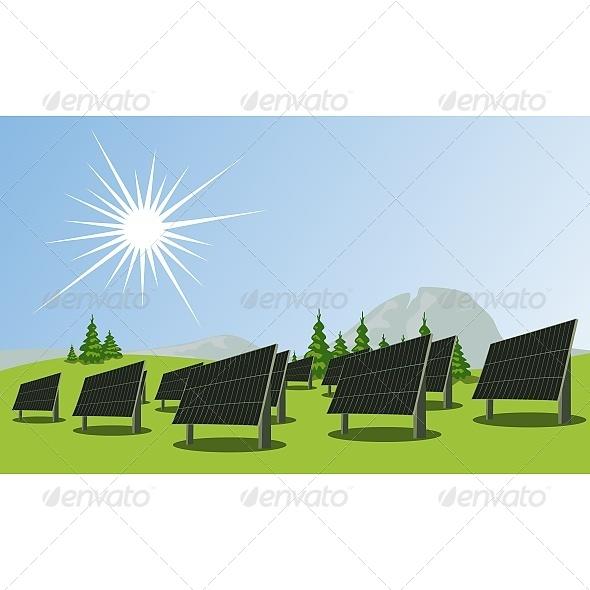 Solar Panels - Technology Conceptual