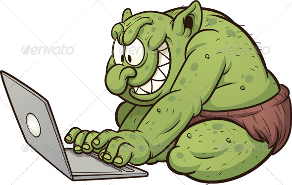 Internet Troll - Monsters Characters
