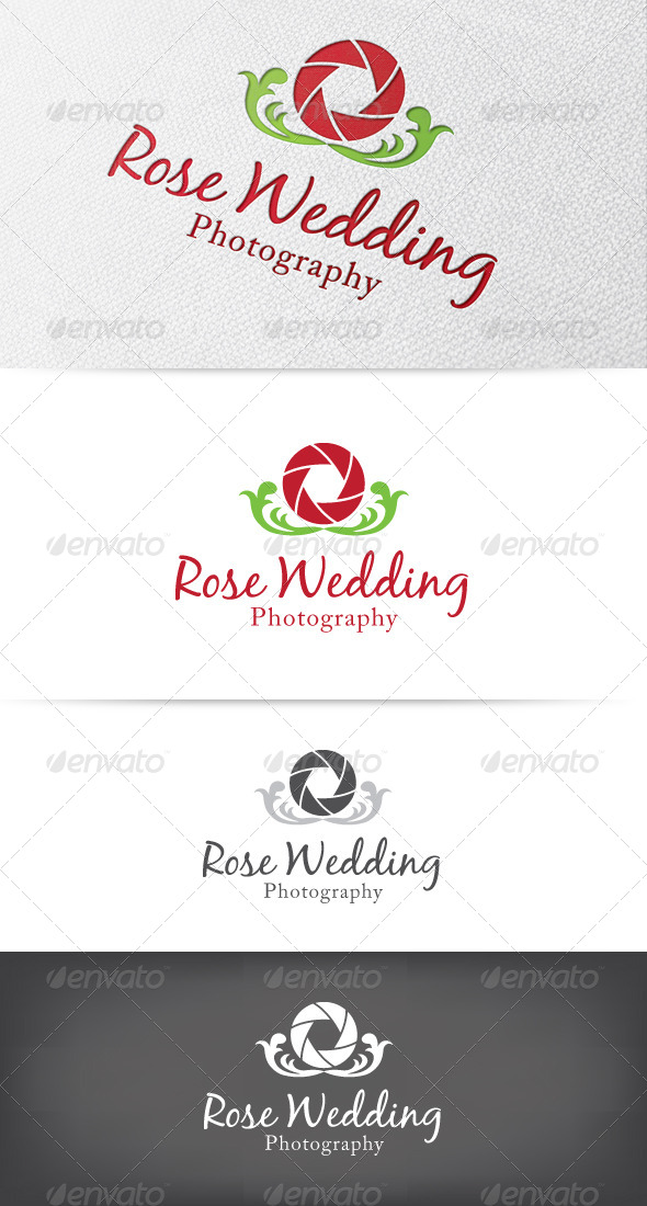 Rose Photography Logo - Objects Logo Templates