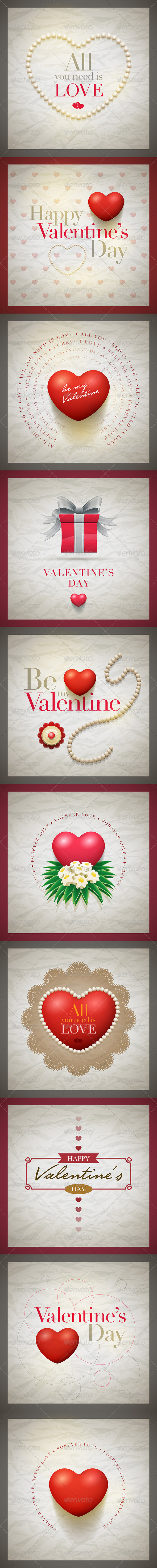 Valentine Card Collection - Valentines Seasons/Holidays