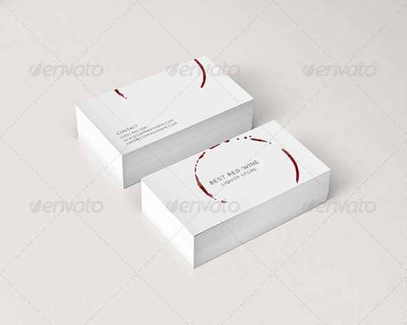 Business card for restaurants and liquor stores by deniskukareko liquor stores business cards print templates 01preview1g reheart Images
