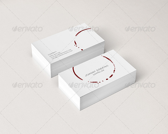 Business card for restaurants and liquor stores by deniskukareko liquor stores business cards print templates 01preview1g 02preview2g colourmoves