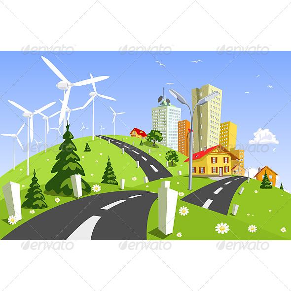 Wind Power Plant - Technology Conceptual