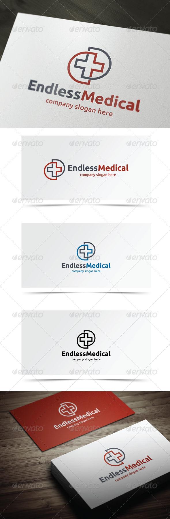 Endless Medical - Symbols Logo Templates