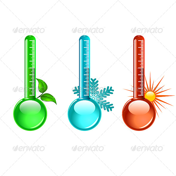 Thermometer - Objects Vectors
