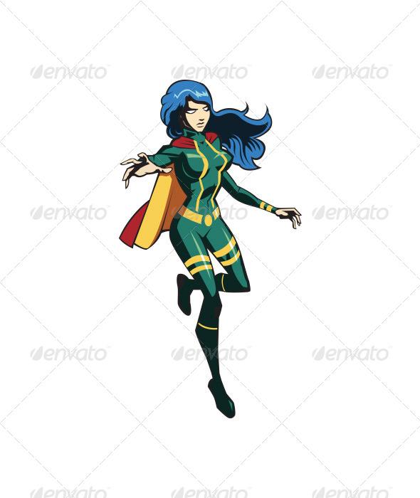 Herogirl - People Characters
