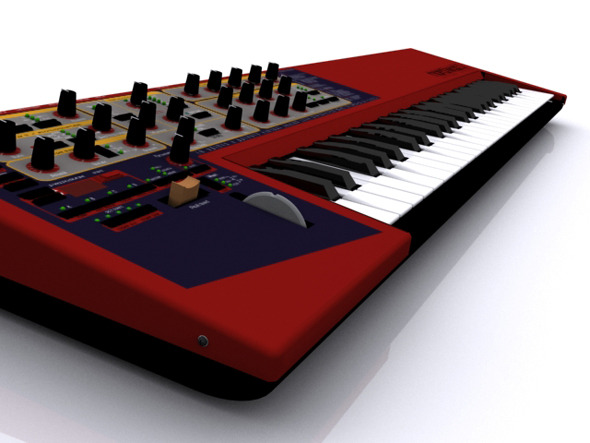 Clavia Nord Lead 2 Model - 3DOcean Item for Sale