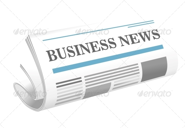 Business News Paper Icon - Communications Technology