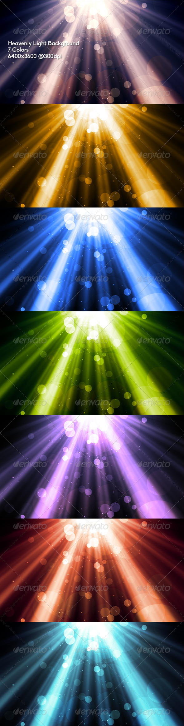 Heavenly Light Background - Abstract Backgrounds