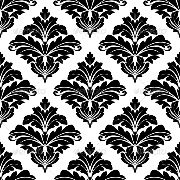 Seamless Arabesque Pattern - Patterns Decorative