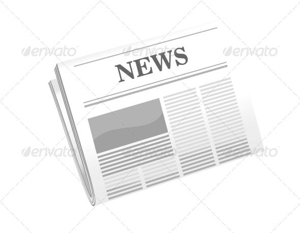 Folded Newspaper - Communications Technology