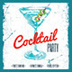 Cocktail Party Flyer vol.1 - GraphicRiver Item for Sale