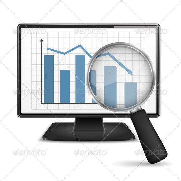 Bar Graph - Business Conceptual