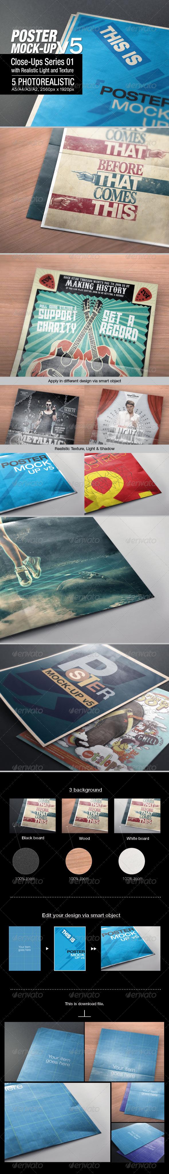 Poster Mock-up v5 - Posters Print
