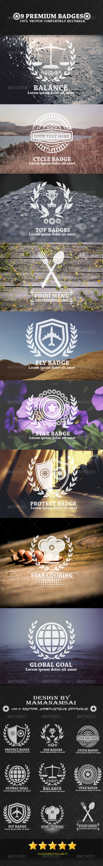 9 Premium Badges - Badges & Stickers Web Elements