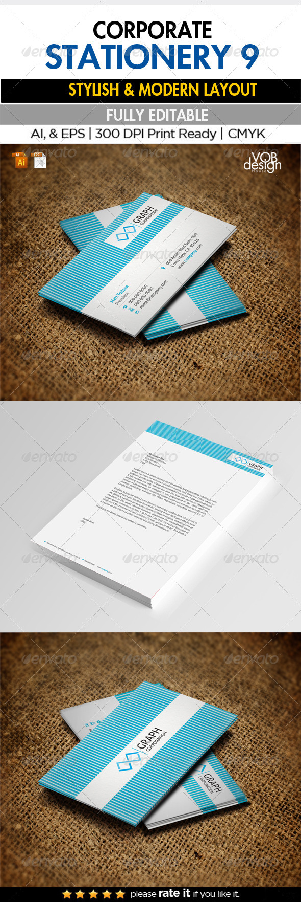 Corporate Stationery 9 - Stationery Print Templates