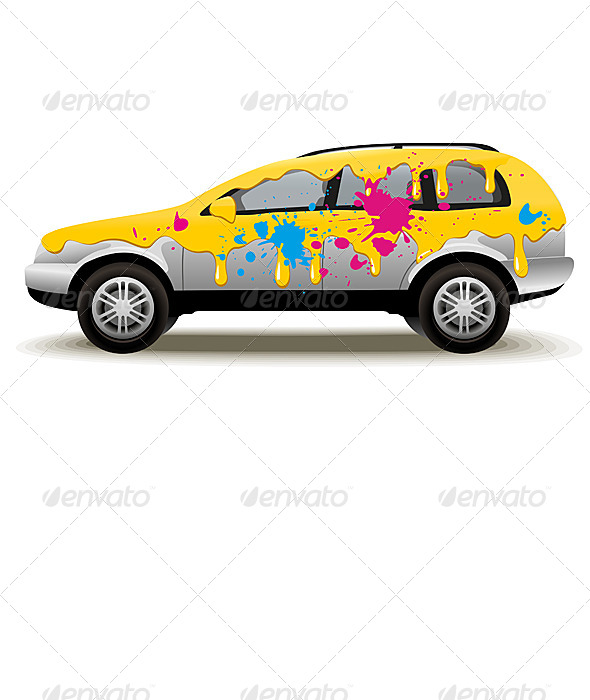 Car Painting - Services Commercial / Shopping