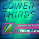 Neon Lines Lower Third V2 (10 Pack)  - VideoHive Item for Sale