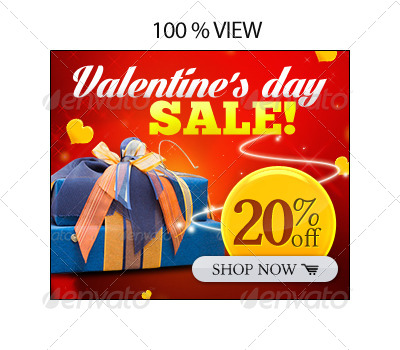 Valentine's Day Banner Set 8