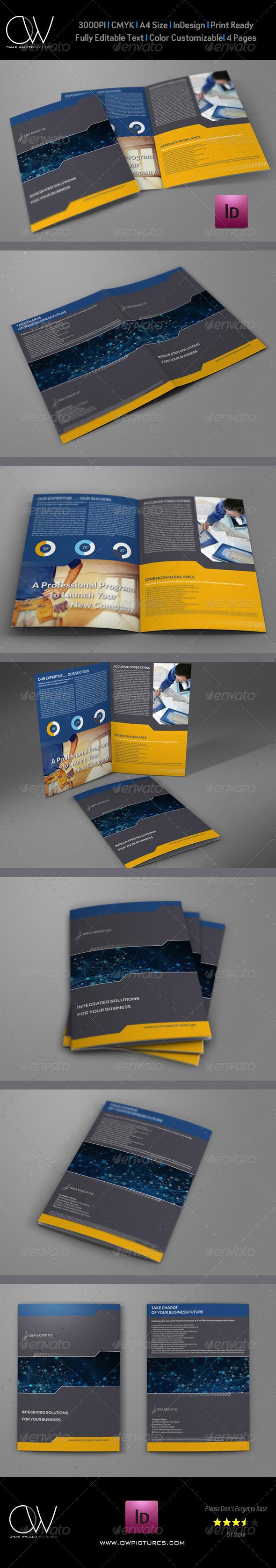 Company Brochure Bi-Fold Template Vol.17 - Corporate Brochures