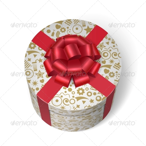Surprise Box with Gifts and Presents - Decorative Symbols Decorative