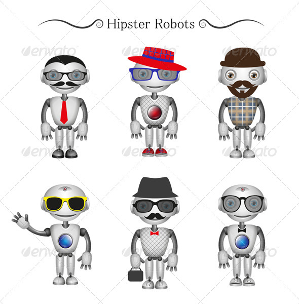 Hipster Robots - Miscellaneous Characters