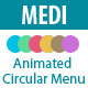 Medi - Animated Circular Menu - CodeCanyon Item for Sale