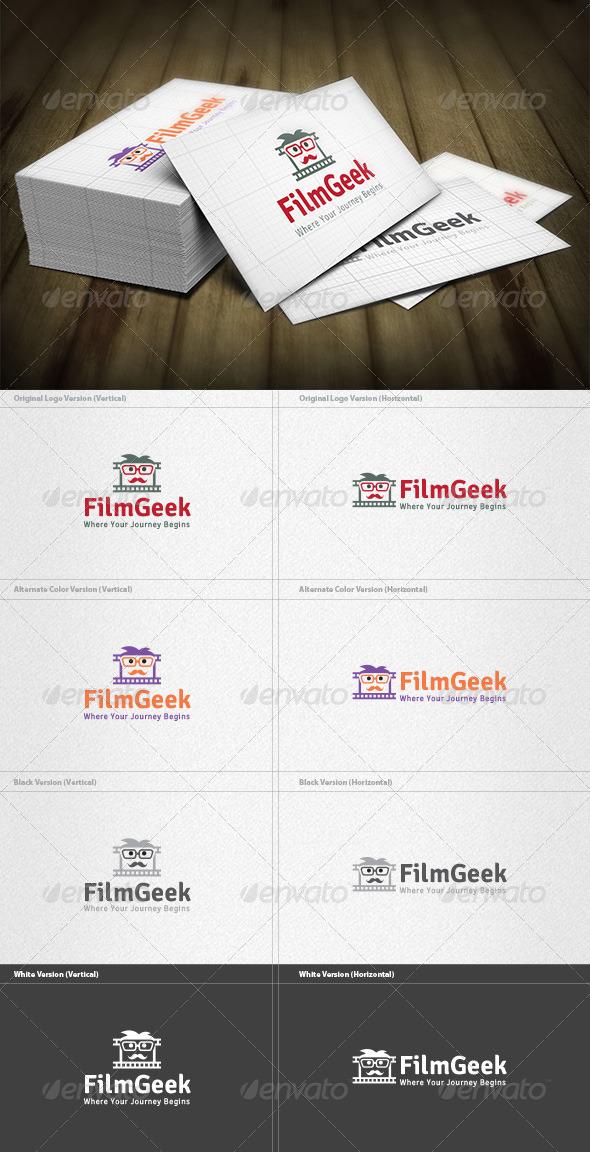 Film Geek Logo - Humans Logo Templates