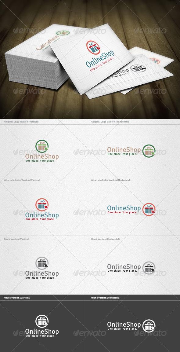 Online Gift Shop Logo - Symbols Logo Templates
