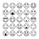 Smiley Faces for Website Design