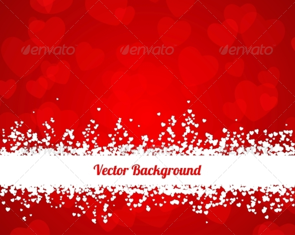 Valentines Hearts Background - Valentines Seasons/Holidays