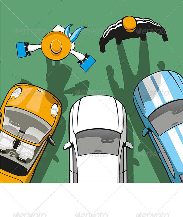 Rent Car - Conceptual Vectors