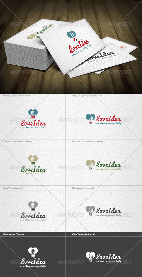 Love Idea Logo - Symbols Logo Templates