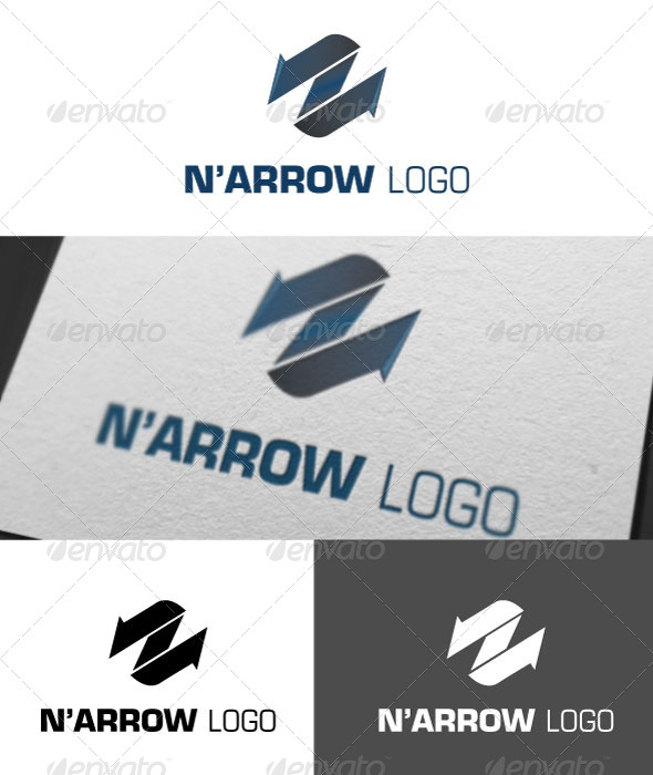Narrow Logo Template - Logo Templates