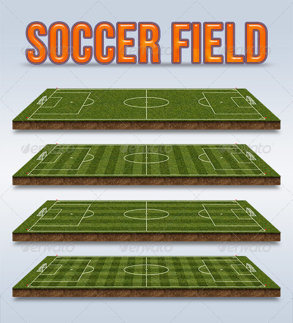 Soccer Field - Miscellaneous Backgrounds