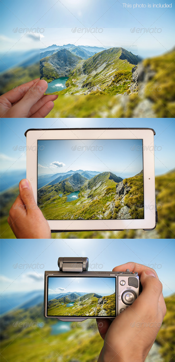Ultimate Photo Mock Up - Miscellaneous Photo Templates